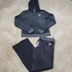 Juicy Couture 2pc Velour Outfit